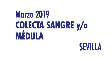 Registrarte como donante de médula en Sevilla en Marzo 2019