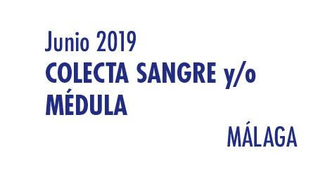 Registrarte como donante de médula en Málaga en Junio 2019
