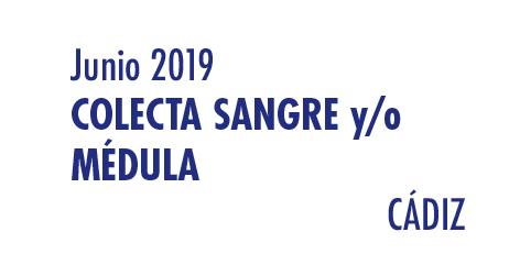 Registrarte como donante de médula en Cádiz en Junio 2019