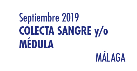 Registrarte como donante de médula en Málaga en Septiembre 2019