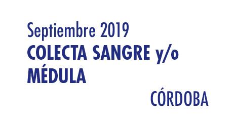 Registrarte como donante de médula en Córdoba en Septiembre 2019
