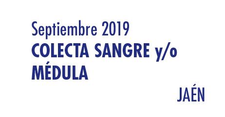 Registrarte como donante de médula en Jaén en Septiembre 2019